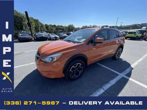 2014 Subaru XV Crosstrek for sale at Impex Auto Sales in Greensboro NC