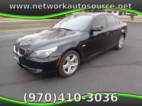 2008 BMW 5 Series for sale at Network Auto Source in Loveland CO