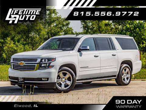 2015 Chevrolet Suburban for sale at Lifetime Auto in Elwood IL