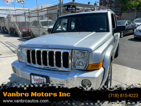 2010 Jeep Commander for sale at Vanbro Motors Inc in Staten Island NY