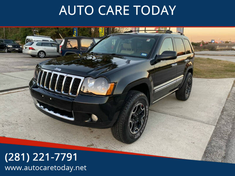 2008 Jeep Grand Cherokee for sale at AUTO CARE TODAY in Spring TX