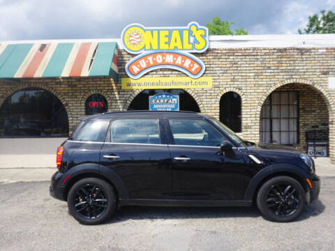 2016 MINI Countryman for sale at Oneal's Automart LLC in Slidell LA