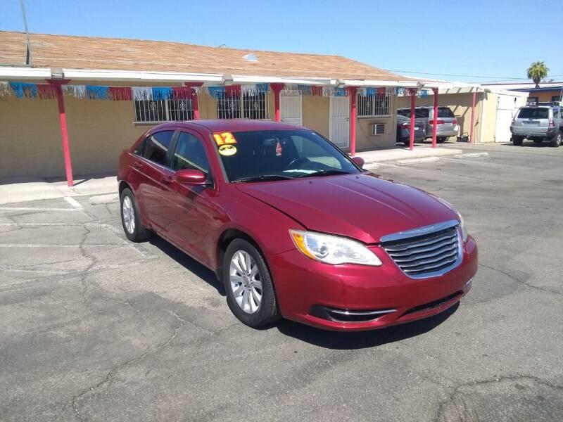 2012 Chrysler 200 for sale at Car Spot in Las Vegas NV