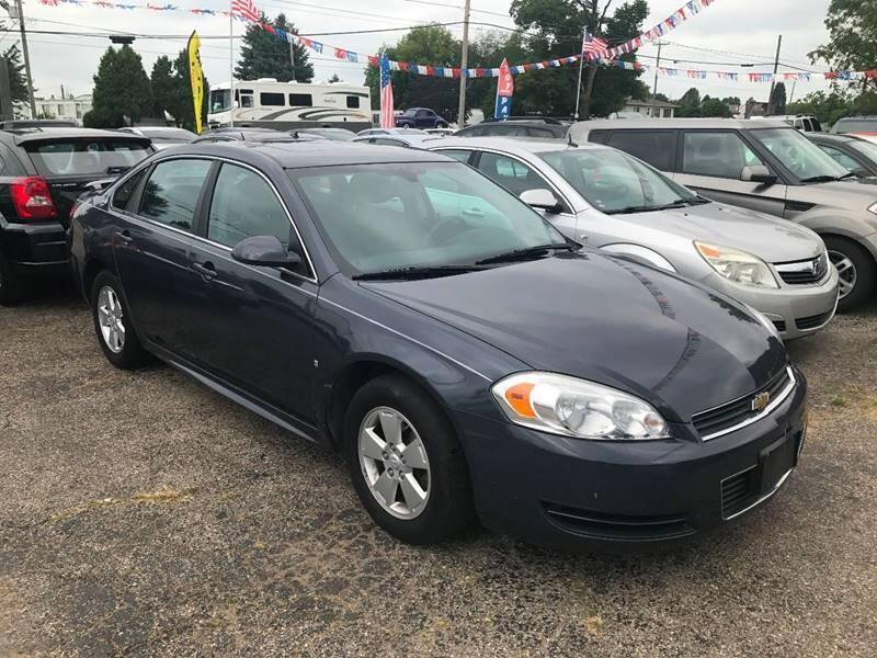 2009 Chevrolet Impala for sale at Pine Auto Sales in Paw Paw MI