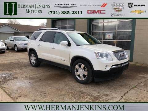 2007 GMC Acadia for sale at Herman Jenkins Used Cars in Union City TN