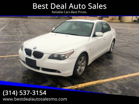 2007 BMW 5 Series for sale at Best Deal Auto Sales in Saint Charles MO