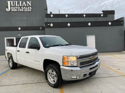2012 Chevrolet Silverado 1500 for sale at Julian Auto Sales, Inc. in Warren MI