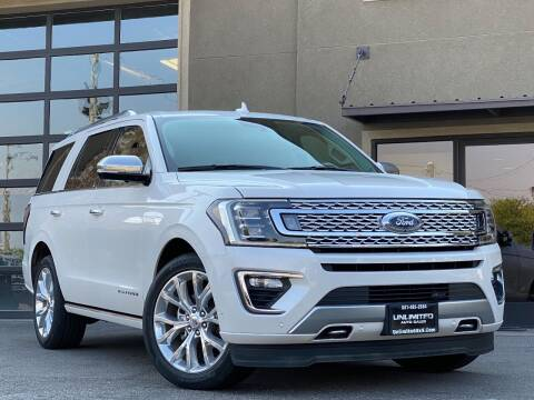 2018 Ford Expedition for sale at Unlimited Auto Sales in Salt Lake City UT