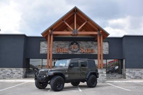 2016 Jeep Wrangler Unlimited for sale at JW Auto Sales LLC in Harrisonburg VA