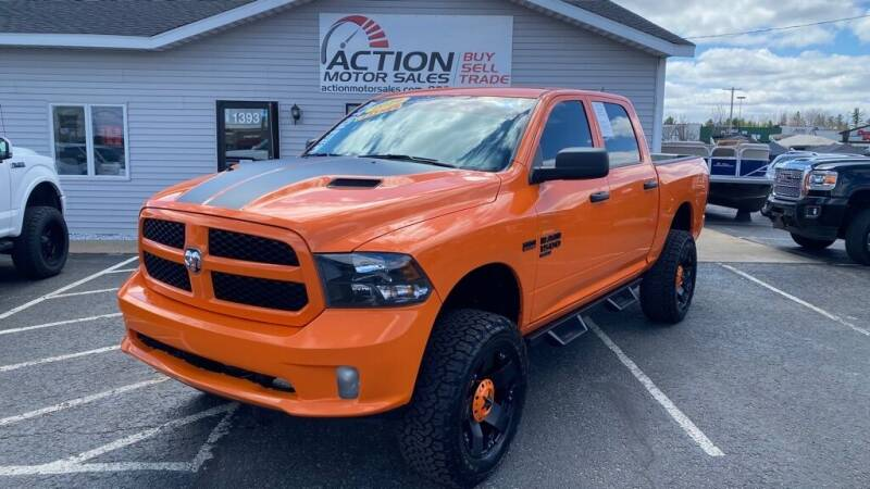2019 RAM Ram Pickup 1500 Classic for sale at Action Motor Sales in Gaylord MI