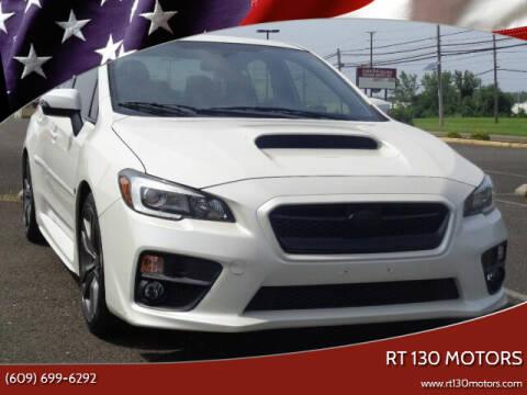 2016 Subaru WRX for sale at RT 130 Motors in Burlington NJ