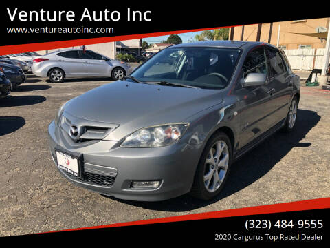 2007 Mazda MAZDA3 for sale at Venture Auto Inc in South Gate CA