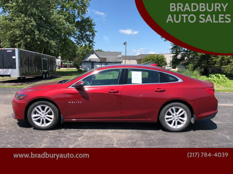 2017 Chevrolet Malibu for sale at BRADBURY AUTO SALES in Gibson City IL