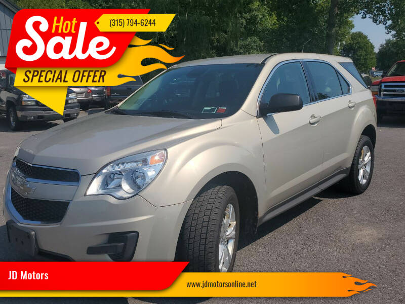2012 Chevrolet Equinox for sale at JD Motors in Fulton NY