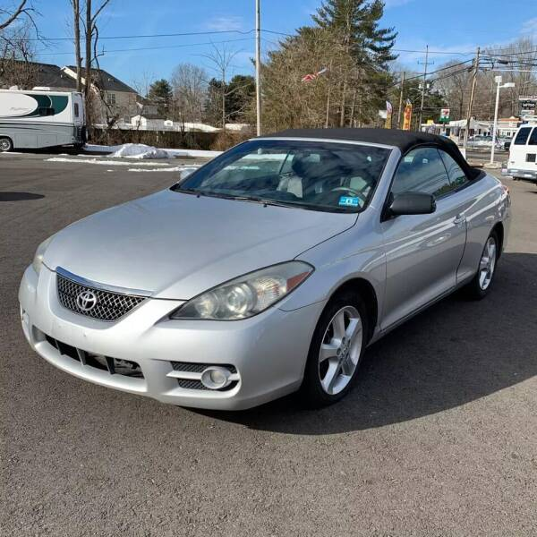 2008 Toyota Camry Solara for sale at CRS 1 LLC in Lakewood NJ