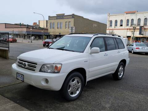 2006 Toyota Highlander for sale at Aberdeen Auto Sales in Aberdeen WA