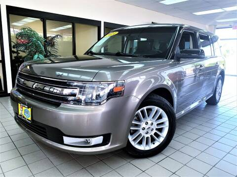 2014 Ford Flex for sale at SAINT CHARLES MOTORCARS in Saint Charles IL