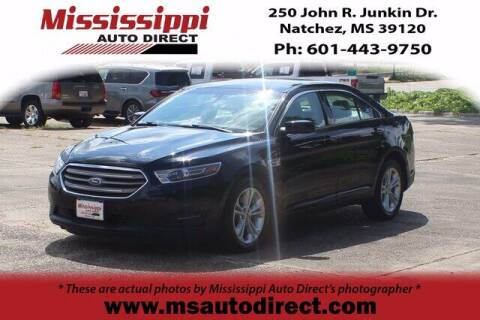 2018 Ford Taurus for sale at Auto Group South - Mississippi Auto Direct in Natchez MS