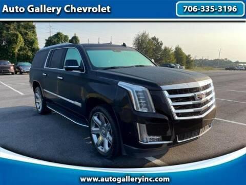 2018 Cadillac Escalade ESV for sale at Auto Gallery Chevrolet in Commerce GA