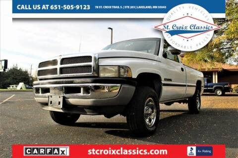 1995 Dodge Ram Pickup 1500 for sale at St. Croix Classics in Lakeland MN