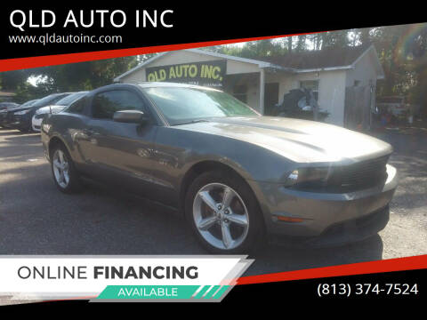 2010 Ford Mustang for sale at QLD AUTO INC in Tampa FL