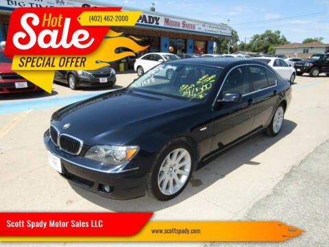2006 BMW 7 Series for sale at Scott Spady Motor Sales LLC in Hastings NE