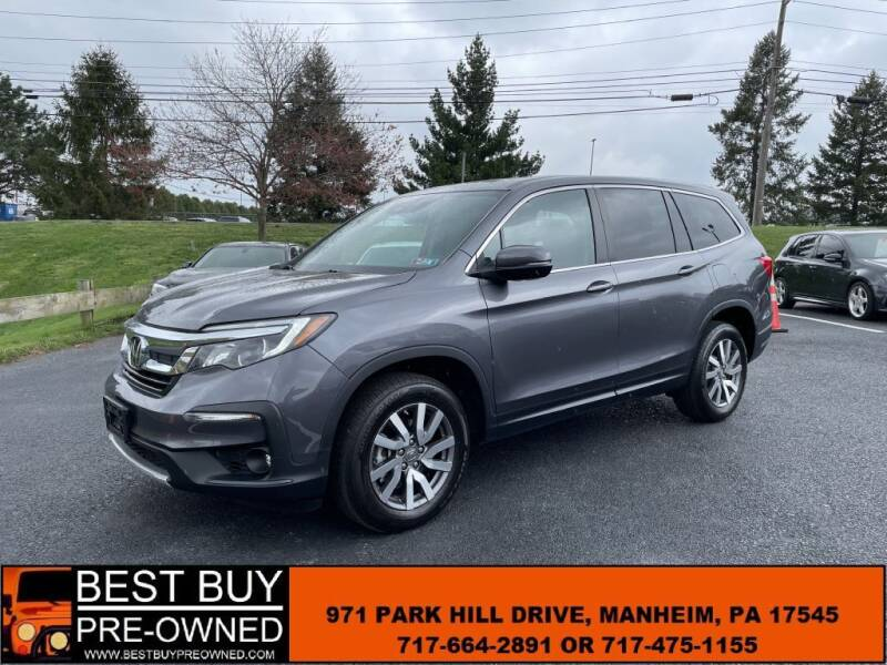 2019 Honda Pilot for sale at Best Buy Pre-Owned in Manheim PA