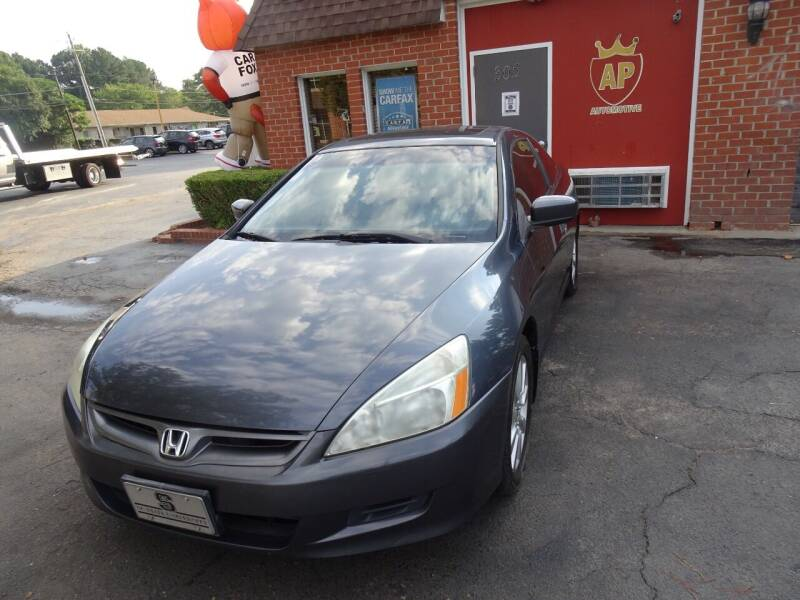 2007 Honda Accord for sale at AP Automotive in Cary NC
