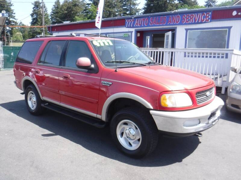 1997 Ford Expedition for sale at 777 Auto Sales and Service in Tacoma WA