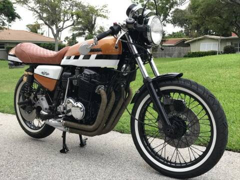 1975 Honda CB750 SS for sale at Goval Auto Sales in Pompano Beach FL