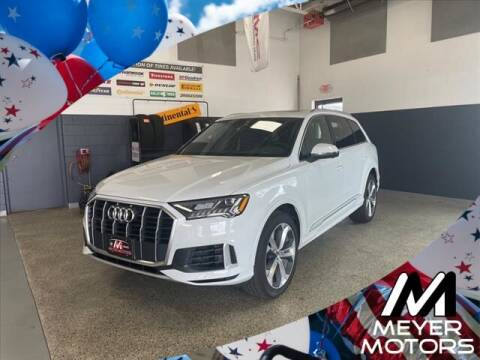 2021 Audi Q7 for sale at Meyer Motors in Plymouth WI
