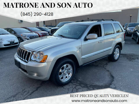 2009 Jeep Grand Cherokee for sale at Matrone and Son Auto in Tallman NY