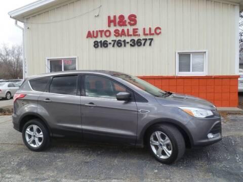 2014 Ford Escape for sale at H & S Auto Sale LLC in Grandview MO