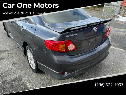 2009 Toyota Corolla for sale at Car One Motors in Seattle WA