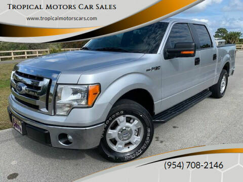 2011 Ford F-150 for sale at Tropical Motors Car Sales in Deerfield Beach FL