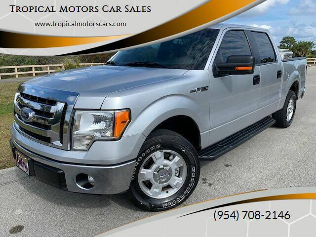 2011 Ford F-150 for sale at Tropical Motors Car Sales in Deerfield Beach FL