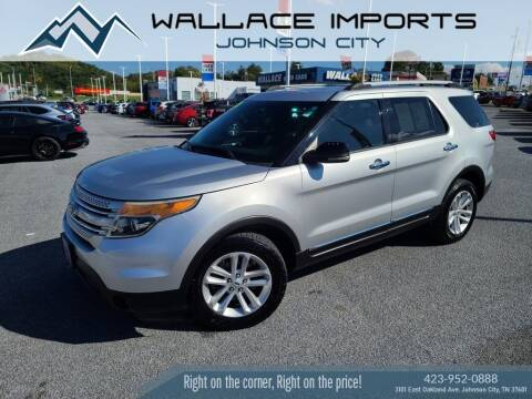 2012 Ford Explorer for sale at WALLACE IMPORTS OF JOHNSON CITY in Johnson City TN