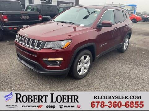 2021 Jeep Compass for sale at Robert Loehr Chrysler Dodge Jeep Ram in Cartersville GA