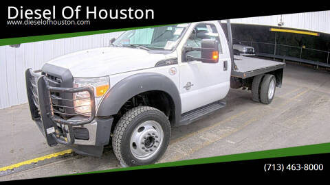 2016 Ford F-550 Super Duty for sale at Diesel Of Houston in Houston TX