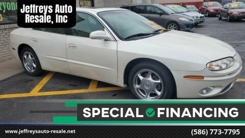 2001 Oldsmobile Aurora for sale at Jeffreys Auto Resale, Inc in Clinton Township MI