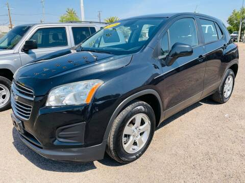 2015 Chevrolet Trax for sale at Fast Trac Auto Sales in Phoenix AZ