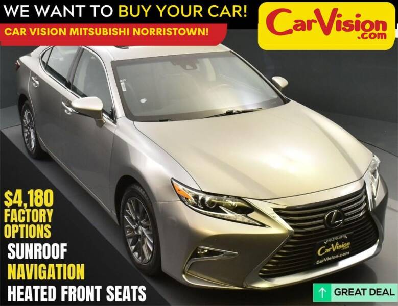 2018 Lexus ES 350 for sale at Car Vision Mitsubishi Norristown in Norristown PA