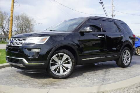 2018 Ford Explorer for sale at Platinum Motors LLC in Heath OH