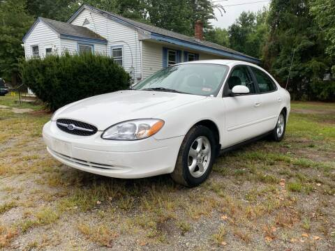 2003 Ford Taurus for sale at Official Auto Sales in Plaistow NH