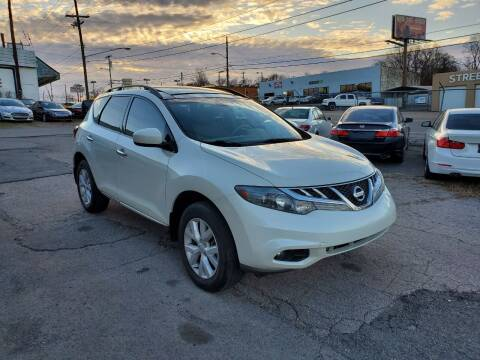 2011 Nissan Murano for sale at Green Ride Inc in Nashville TN