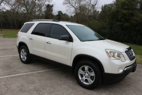 2012 GMC Acadia for sale at Clear Lake Auto World in League City TX