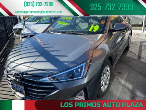 2019 Hyundai Elantra for sale at Los Primos Auto Plaza in Antioch CA