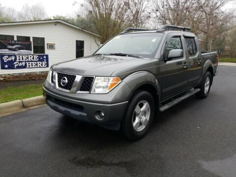 2006 Nissan Frontier for sale at TR MOTORS in Gastonia NC