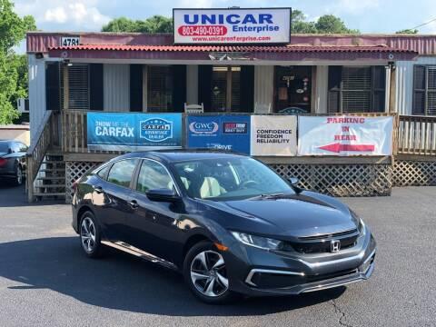 2019 Honda Civic for sale at Unicar Enterprise in Lexington SC