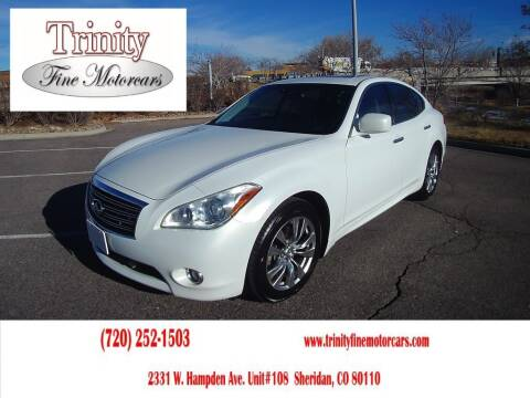2012 Infiniti M56 for sale at TRINITY FINE MOTORCARS in Sheridan CO
